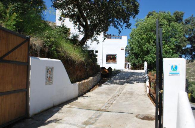 Hotel rural en Andalucía Encinar de Aguas Blancas.
