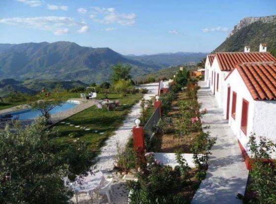 Hotel rural con encanto Hacienda el Mirador en Andalucía.