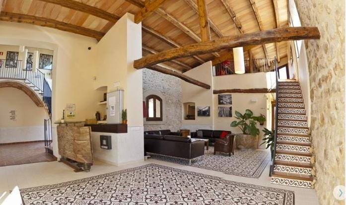 hotel rural con encanto en Tarragona Torre Prior