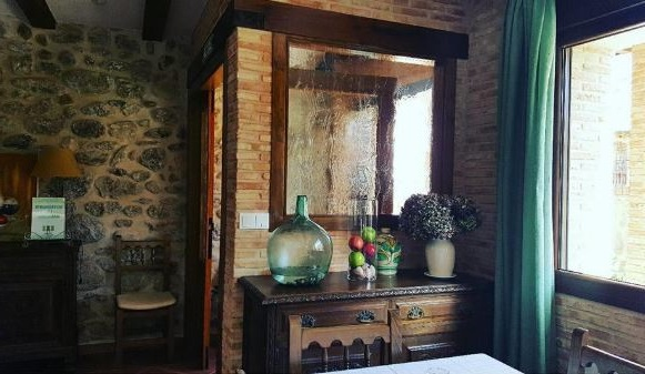 hoteles rurales con encanto cerca de Madrid los manzanos